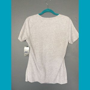 Tops - Asics gray cotton short sleeve t shirt new w/tags
